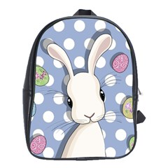 Easter Bunny  School Bag (large)