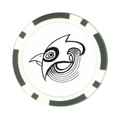 Bird Poker Chip Card Guard (10 Pack)