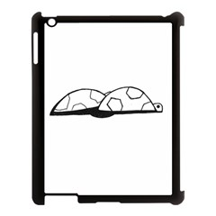 Turtle Apple Ipad 3/4 Case (black)