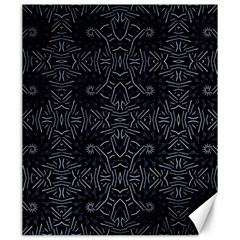 Dark Ethnic Sharp Pattern Canvas 20  X 24