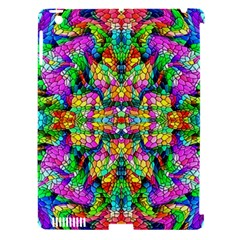 Pattern 854 Apple Ipad 3/4 Hardshell Case (compatible With Smart Cover)
