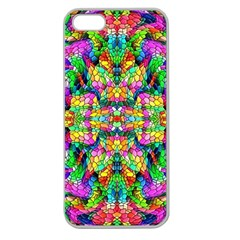 Pattern 854 Apple Seamless Iphone 5 Case (clear)
