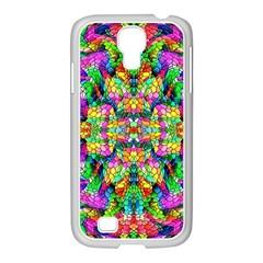 Pattern 854 Samsung Galaxy S4 I9500/ I9505 Case (white)