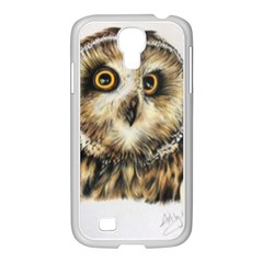 Owl Samsung Galaxy S4 I9500/ I9505 Case (white)