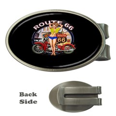 Route 66 Money Clips (oval)