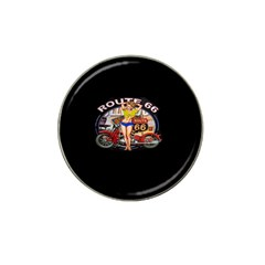 Route 66 Hat Clip Ball Marker (10 Pack)