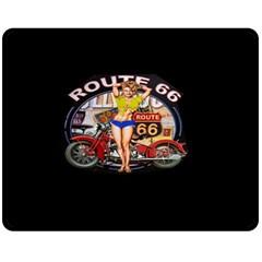 Route 66 Fleece Blanket (medium)
