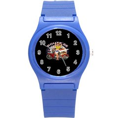 Route 66 Round Plastic Sport Watch (s)