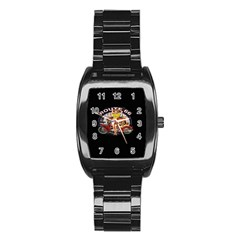 Route 66 Stainless Steel Barrel Watch