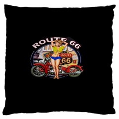 Route 66 Standard Flano Cushion Case (one Side)