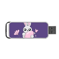 Easter Bunny  Portable Usb Flash (one Side)