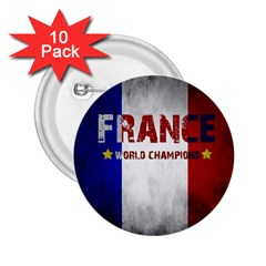 Football World Cup 2 25  Buttons (10 Pack)