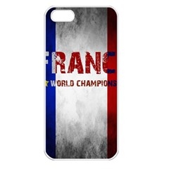 Football World Cup Apple Iphone 5 Seamless Case (white)