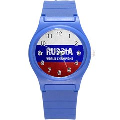 Football World Cup Round Plastic Sport Watch (s)