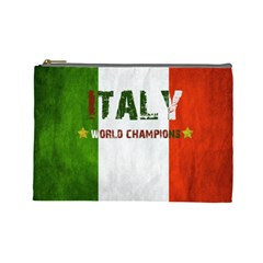 Football World Cup Cosmetic Bag (large)