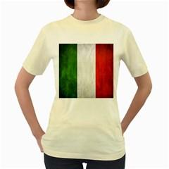 Football World Cup Women s Yellow T Shirt