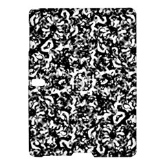 Black And White Abstract Texture Samsung Galaxy Tab S (10 5 ) Hardshell Case