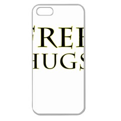 Freehugs Apple Seamless Iphone 5 Case (clear)