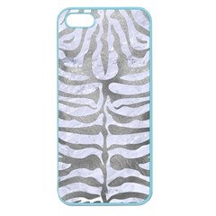 Skin2 White Marble & Silver Paint (r) Apple Seamless Iphone 5 Case (color)