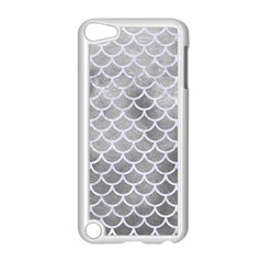 Scales1 White Marble & Silver Paint Apple Ipod Touch 5 Case (white)
