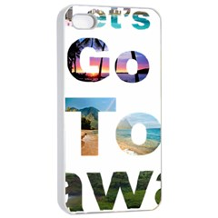 Hawaii Apple Iphone 4/4s Seamless Case (white)