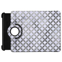 Circles3 White Marble & Silver Paint (r) Kindle Fire Hd 7