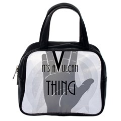 It s A Vulcan Thing Classic Handbags (one Side)