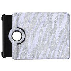 Skin3 White Marble & Silver Glitter Kindle Fire Hd 7