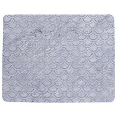 Scales2 White Marble & Silver Glitter (r) Jigsaw Puzzle Photo Stand (rectangular)