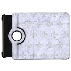 Royal1 White Marble & Silver Glitter Kindle Fire Hd 7