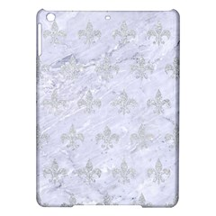 Royal1 White Marble & Silver Glitter Ipad Air Hardshell Cases