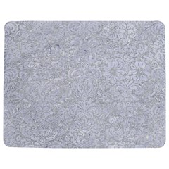 Damask2 White Marble & Silver Glitter Jigsaw Puzzle Photo Stand (rectangular)
