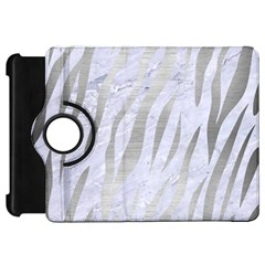 Skin3 White Marble & Silver Brushed Metal (r) Kindle Fire Hd 7