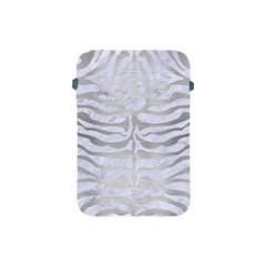 Skin2 White Marble & Silver Brushed Metal (r) Apple Ipad Mini Protective Soft Cases