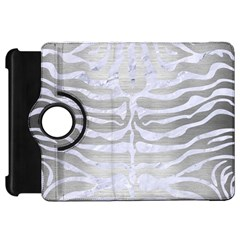 Skin2 White Marble & Silver Brushed Metal Kindle Fire Hd 7