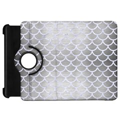 Scales1 White Marble & Silver Brushed Metal Kindle Fire Hd 7
