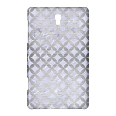 Circles3 White Marble & Silver Brushed Metal (r) Samsung Galaxy Tab S (8 4 ) Hardshell Case