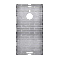 Brick1 White Marble & Silver Brushed Metal Nokia Lumia 1520