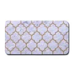 Tile1 White Marble & Sand (r) Medium Bar Mats
