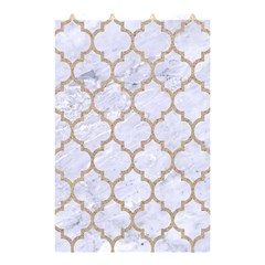 Tile1 White Marble & Sand (r) Shower Curtain 48  X 72  (small)