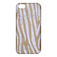 Skin4 White Marble & Sand (r) Apple Iphone 5c Hardshell Case