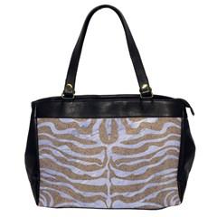 Skin2 White Marble & Sand Office Handbags