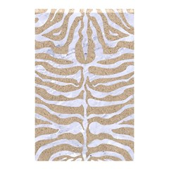 Skin2 White Marble & Sand Shower Curtain 48  X 72  (small)