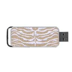 Skin2 White Marble & Sand Portable Usb Flash (two Sides)