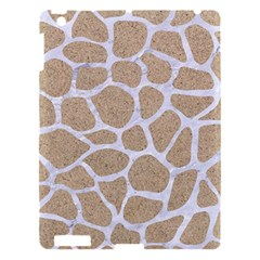 Skin1 White Marble & Sand (r) Apple Ipad 3/4 Hardshell Case