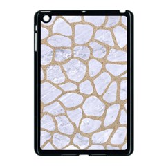 Skin1 White Marble & Sand Apple Ipad Mini Case (black)