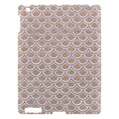 Scales2 White Marble & Sand Apple Ipad 3/4 Hardshell Case