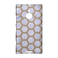 Hexagon2 White Marble & Sand (r) Nokia Lumia 1520