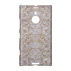 Damask2 White Marble & Sand Nokia Lumia 1520
