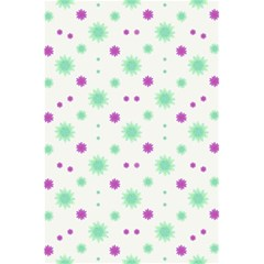 Stars Motif Multicolored Pattern Print 5 5  X 8 5  Notebooks